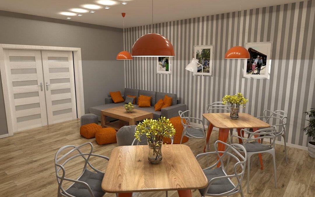Wnętrze domu zaprojektowane przez Magdę Gertig